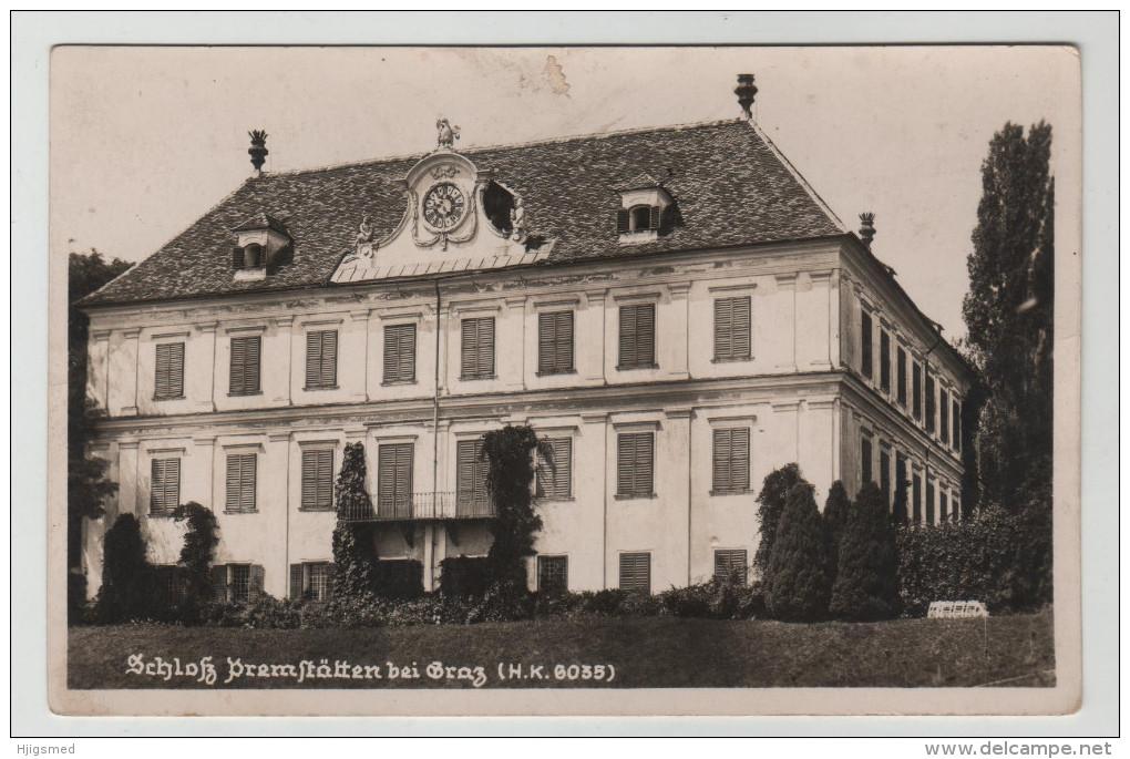 Austria Österreich Schloss Bei Graz RPPC Real Photo Steiermark Post Card Postkarte Karte POSTCARD - Graz