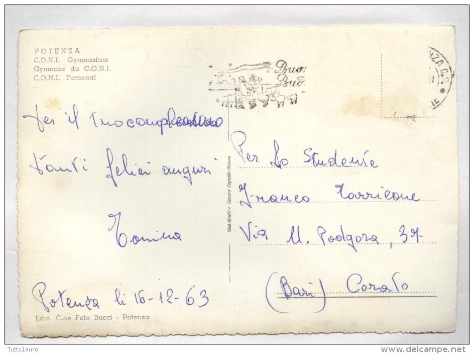 POTENZA - 1963 - PALESTRA DEL CONI - Potenza