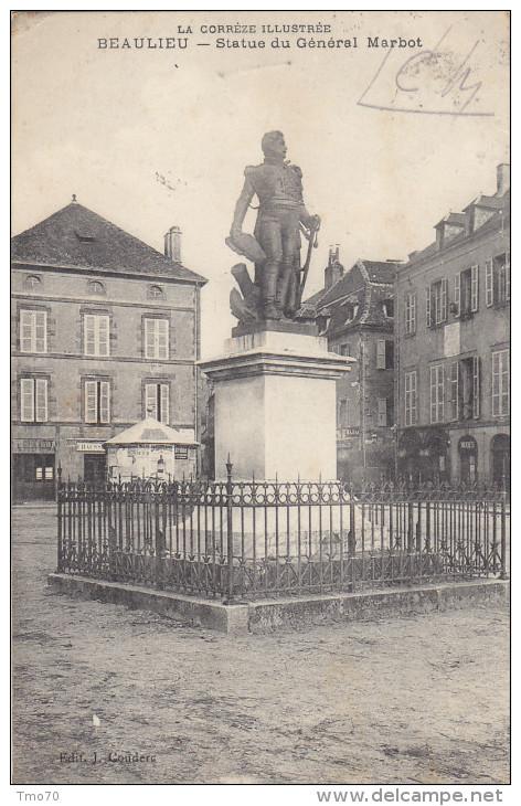 Beaulieu Statue Du Général Marbot - France