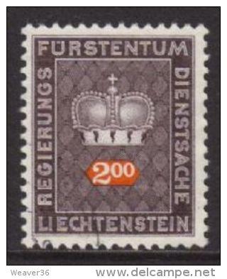Liechtenstein SG O506 1969 Official 2f Good/fine Used - Liechtenstein