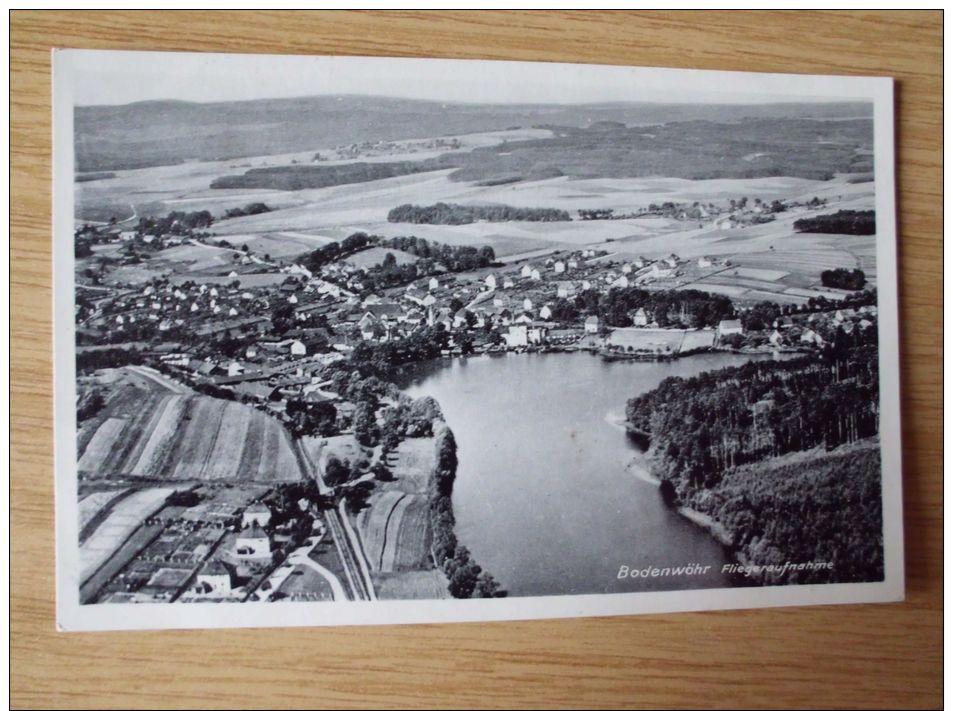 AK Um 1938, BODENWÖHR, FLIEGERAUFNAHME - Altri