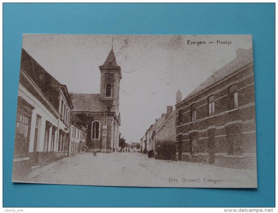 Hoekje Evergem ( REPRO Copie / Copy ) - Anno 19?? ( Zie Foto Voor Details ) !! - Evergem