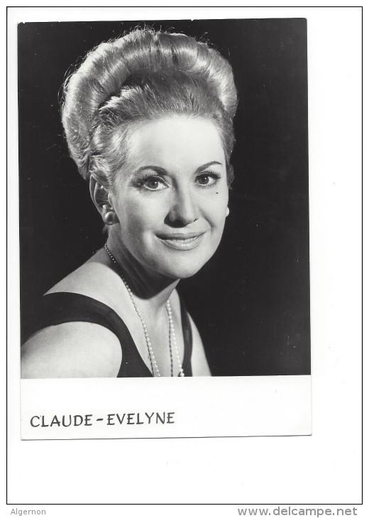 13693 - Claude Evelyne Dédicace  2 Ponts 9 Pully Photo TV Suisse - Artistes