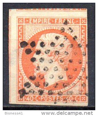 5/ France : N° 16 Oblitéré  , Cote : 20,00 € , Disperse Belle Collection ! - 1853-1860 Napoleon III