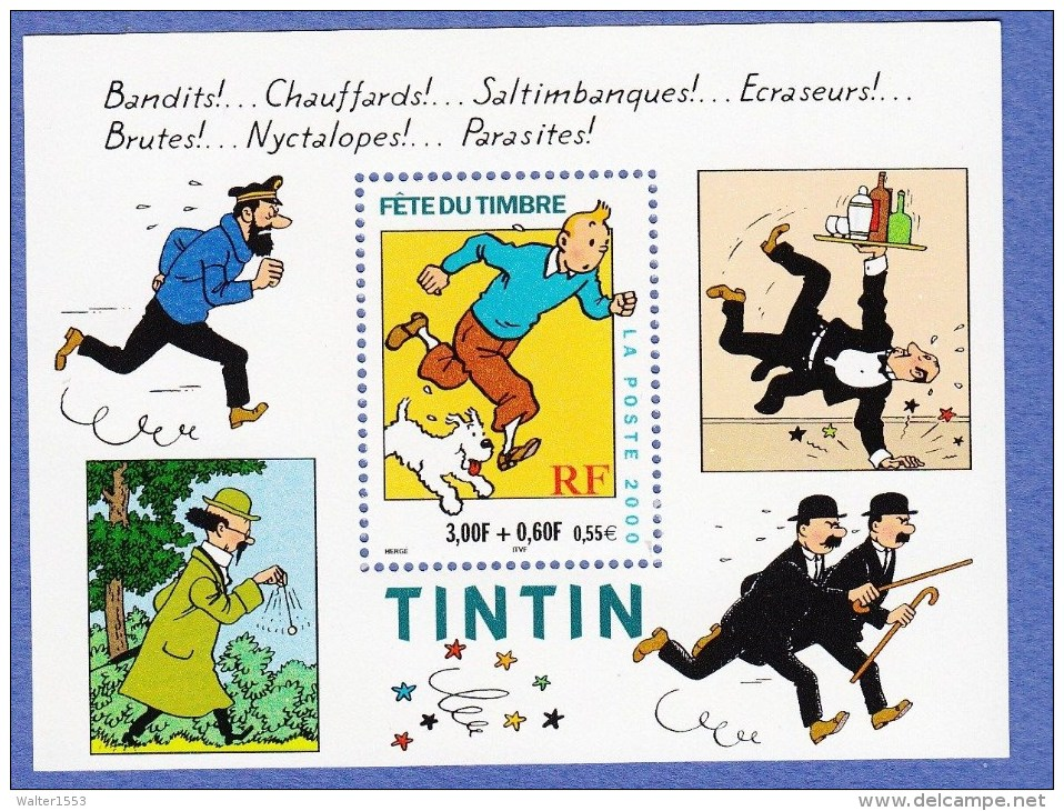 FRANCIA - FRANCE  ** MNH 2000 Foglietto BLOC FEUILLET N. 28 - Sheetlets