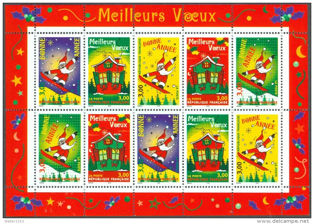 FRANCIA - FRANCE  ** MNH 1998 Foglietto BLOC FEUILLET N. 21 - Sheetlets