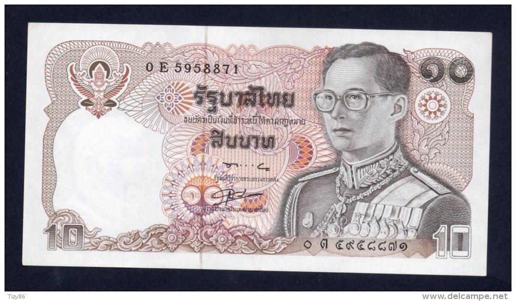 Tailandia 10 Baht - UNC - Tailandia