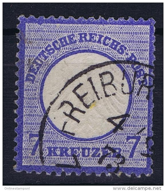 Deutsches Reich:  Mi Nr 10 Used 1872 - Germania
