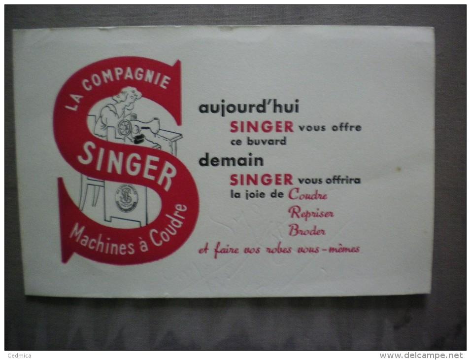SINGER MACHINES A COUDRE - Buvards, Protège-cahiers Illustrés