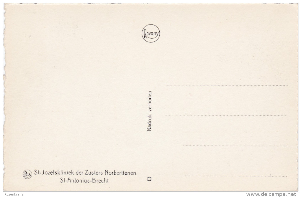 St-Antonius-Brecht Sint Brecht Zithoek St-Jozefskliniek Der Zusters Norbertienen - Brecht