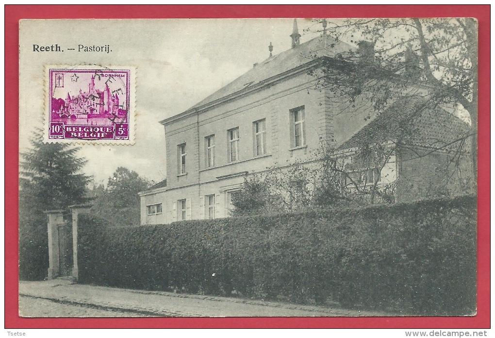 Reet - Pastorij -  1930 ( Verso Zien ) - Rumst