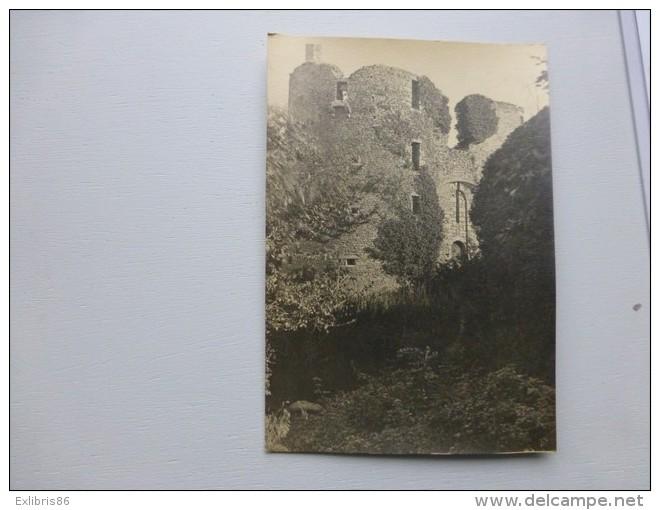 """BRETAGNE, 35  Environs De PAIMPONT  ? Château De  """"RASNOUET""""   Vers 1921 ; Ref 125 PH 12 - Anciennes (Av. 1900)"""