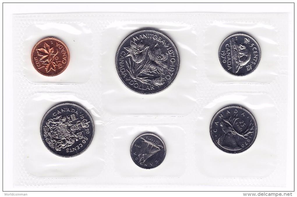 1970 Canada Manitoba Centennial Uncirculated Mint Set - Canada