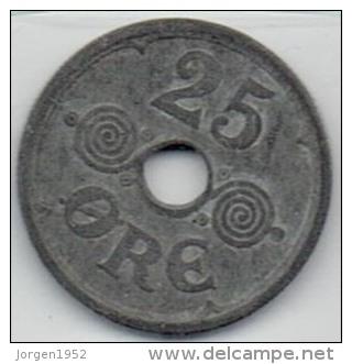 25 ØRE FROM 1942 - Denmark