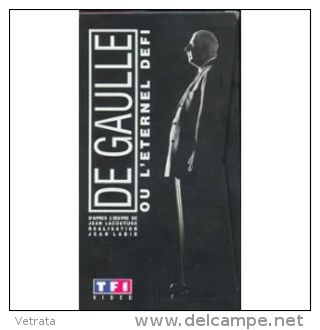 De Gaulle, L'éternel Défi : D'après Jean Lacouture, Réalisation De Jean Labib (2 Cassettes VHS) - Geschichte