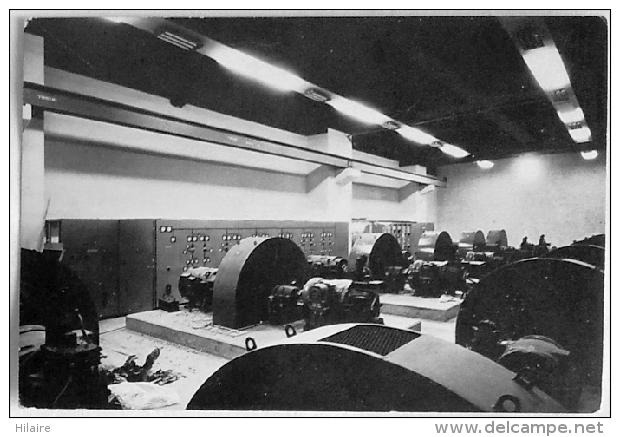 Cpsm Belgique RONQUIERES Salle Des Groupes Ward Leonard Du Plan Incliné - Braine-le-Comte
