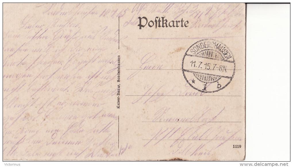 SONDERSHAUSEN  -  Technikerheim  -  Juillet 1915 - Sondershausen