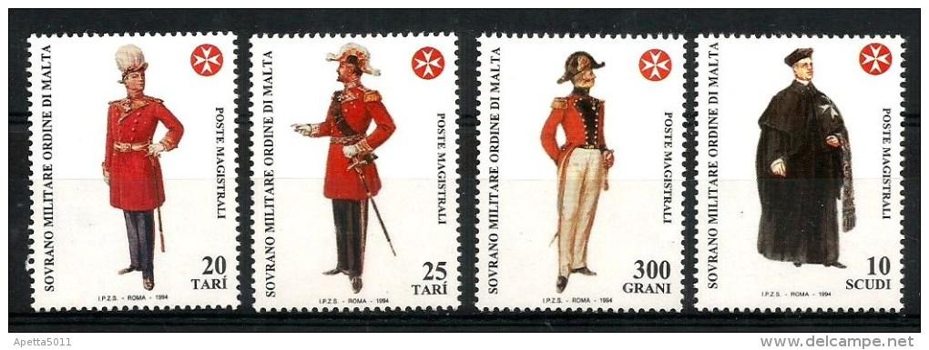 1994 SMOM ORDINE DI MALTA    Costumi Serie Cpl   Nuova ** MNH - Sovrano Militare Ordine Di Malta
