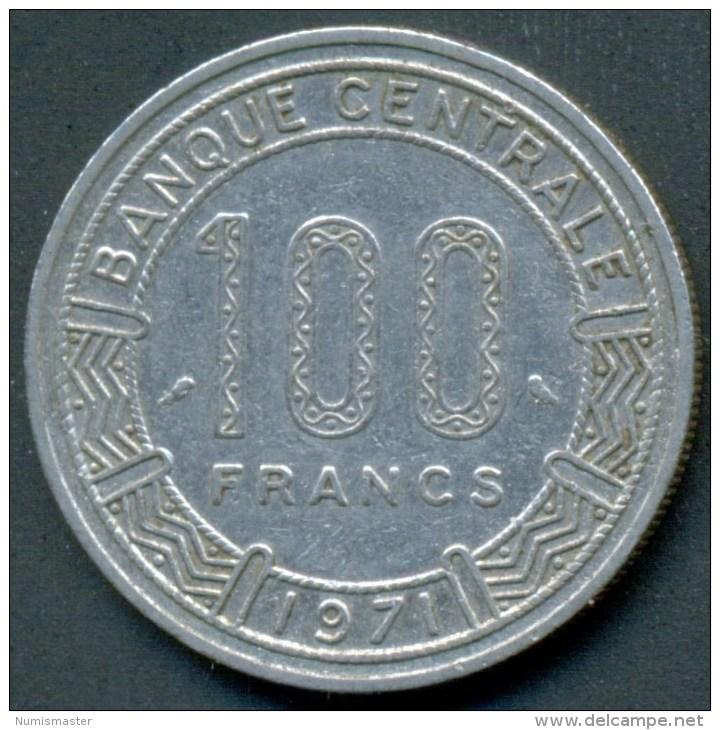CONGO 100 FRANCS 1971 , UNCLEANED COIN - Congo (République 1960)