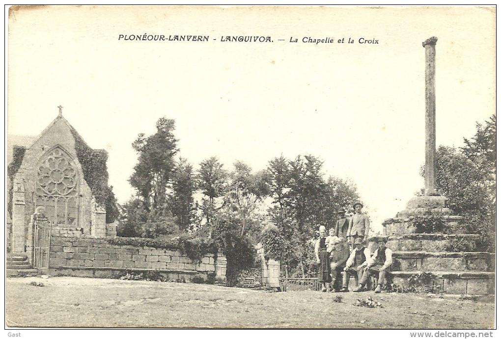 29  PLONEOUR-LANVERN - LANGUIVOA   LA  CHAPELLE  ET  LA  CROIX - France