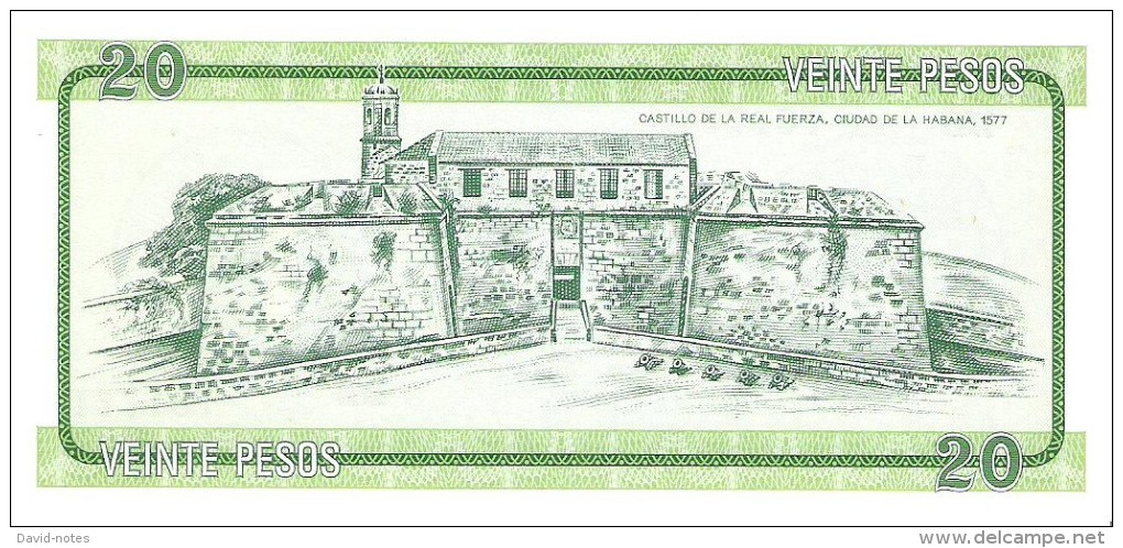 Cuba - Foreign Exchange Certificates - 20 Pesos Series B - Unc - Cuba