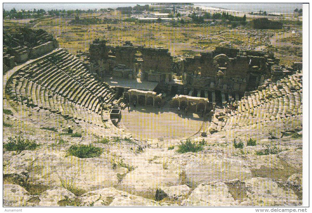 Turquia--Denizli--Teatro--Hierapolis - Turquia