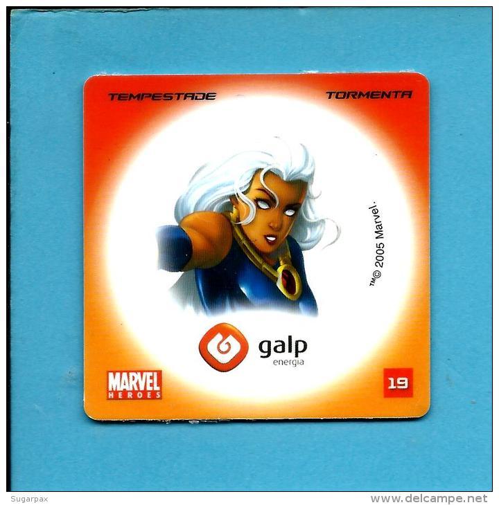 MARVEL HEROES - TEMPESTADE - TORMENTA - STORM - GALP ENERGIA N.º 19 - PORTUGAL - Marvel Heroes