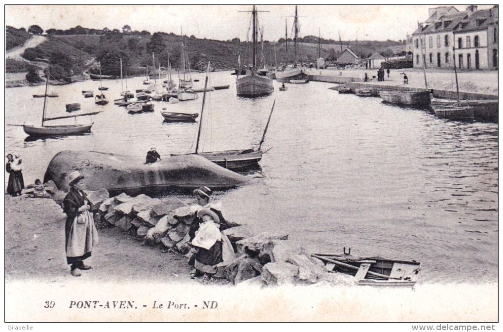 29 - Pont Aven - Le Port ( Animee ) - Pont Aven