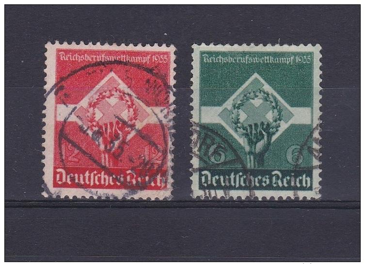 Allemagne - Deutfches Reich - N° 530 Et 531 Oblitérés - Cote = 3.75€ - Allemagne