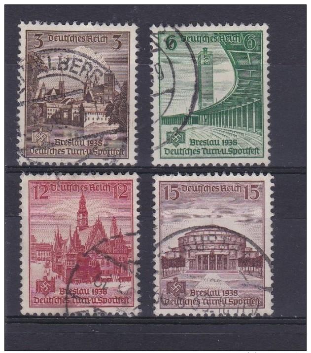 Allemagne - Deutfches Reich - N° 608 à 611 Oblitérés - Cote = 3.50€ - Oblitérés