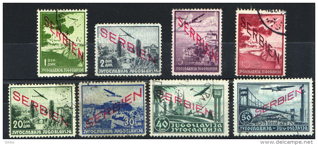 1941. Deutsche Landespost Serbien :) - Serbia