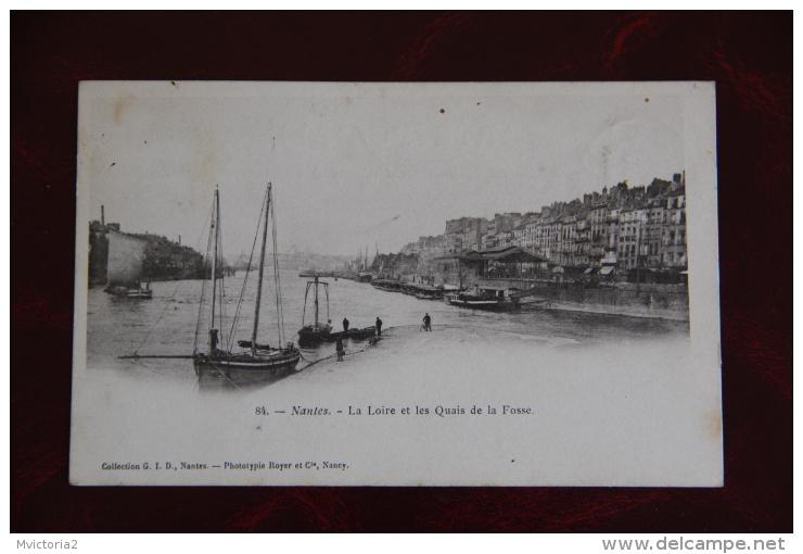 NANTES - La LOIRE Et Les Quais De La Fosse - Nantes