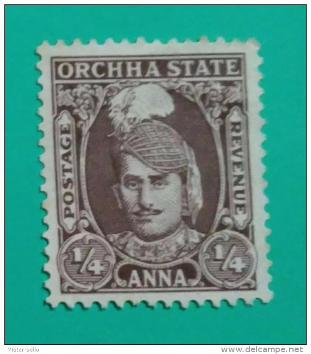 ORCHHA STATE - GRAN BRETAÑA. NUEVO SIN GOMA (*) - Otros