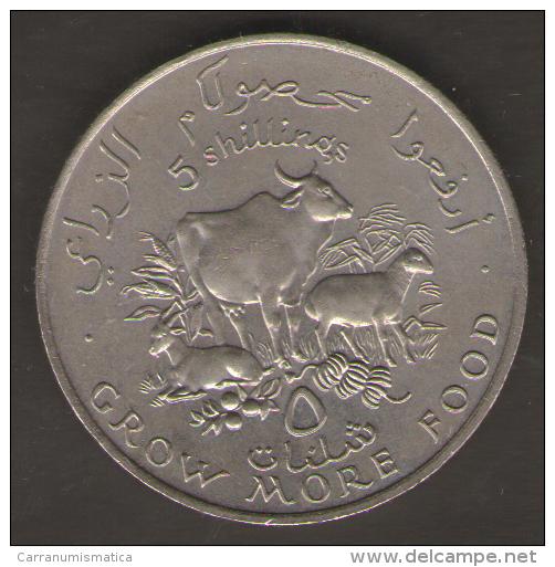 SOMALIA 5 SHILLINGS 1970 - Somalia