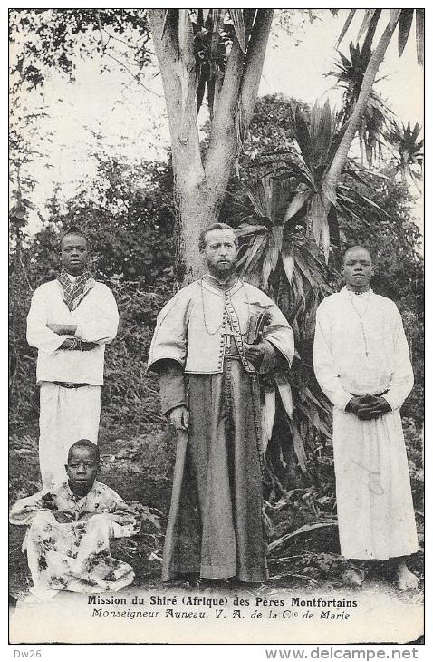 Mission Du Shiré (Afrique) Des Frères Montfortains - Monseigneur Auneau V.A. De La Compagnie De Marie - Non Circulée - Missions