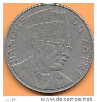 20 Makuta 1976 Clas D 180 - Congo (République 1960)