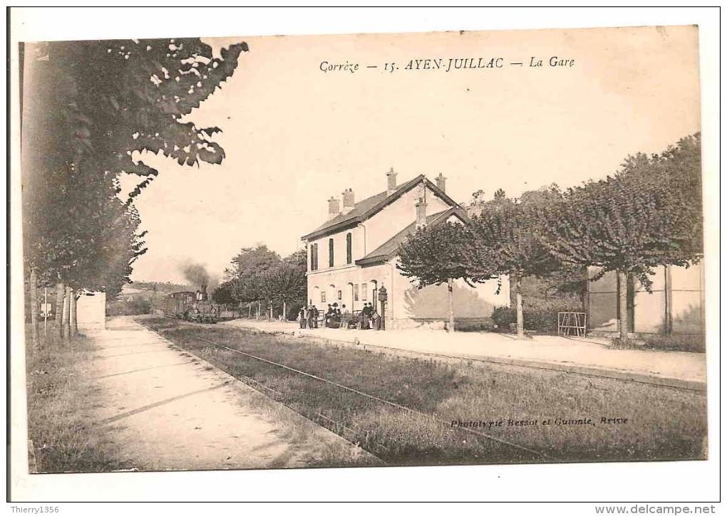 Résolu : une gare oubliée ... AYEN-JUILLAC (Corrèze) 461_001