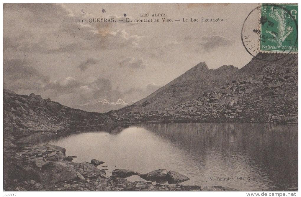 Queyras, En Montant Au Viso Le Lac Egourgéou - Autres Communes
