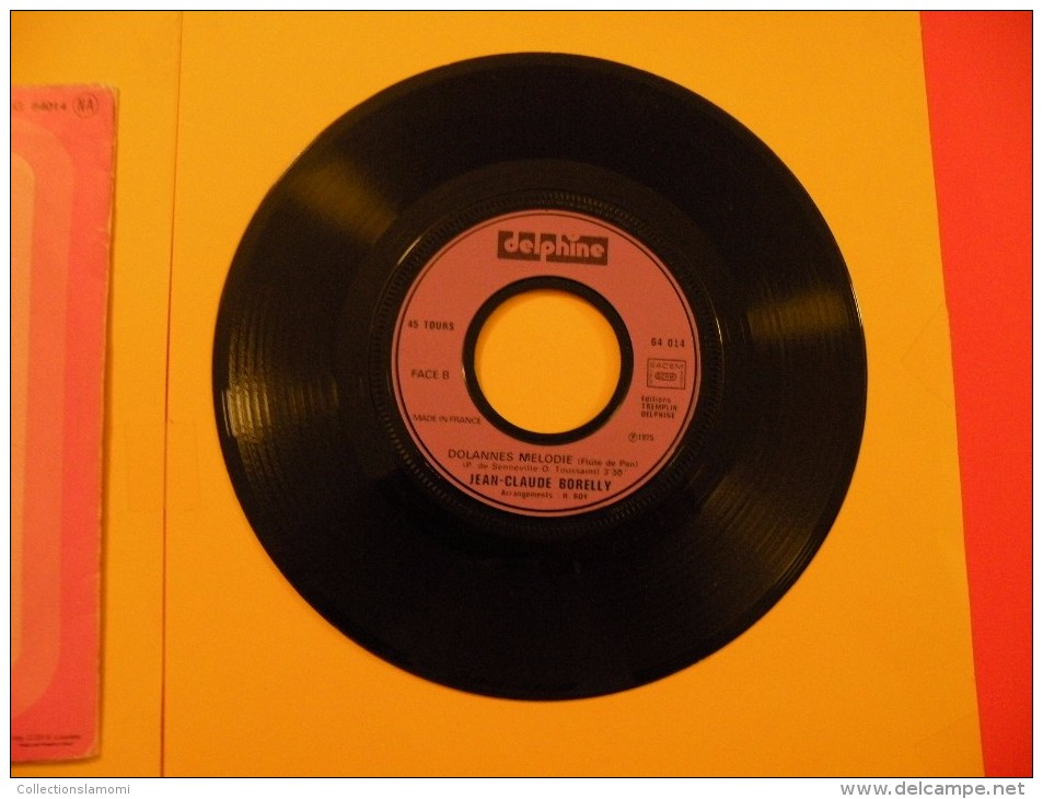 Dolames Mélodie, Bande Originale Du Film, Un Linceul N'a Pas D - 1975 - Voir  Photos, Disque Vinyle - 2 € Le Vinyle 45 T - Filmmusik