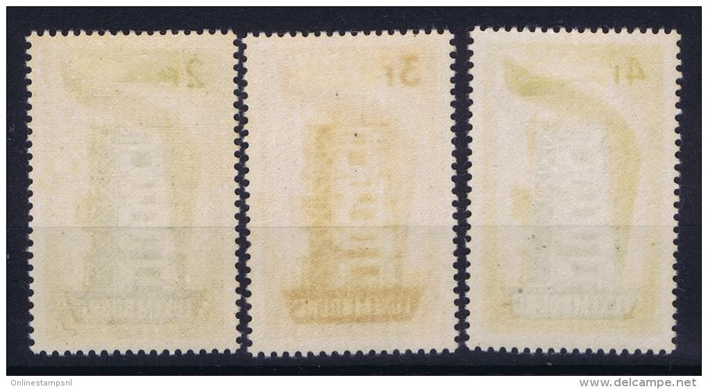 Luxembourg Cept 1956  Mi Nr 555 - 557  MH/* - Ungebraucht
