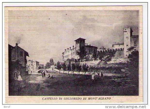 CASTELLO DI COLLOREDO DI MONT'ALBANO (UD) - Udine