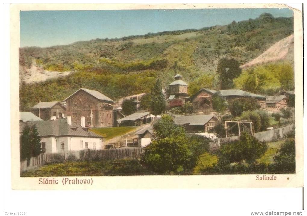 Slanic Prahova Cca 1920 - Romania