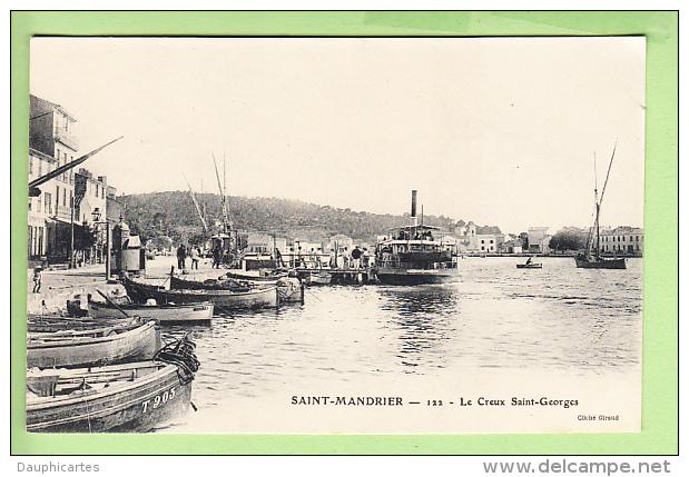 SAINT MANDRIER - Le CREUX SAINT GEORGES - Carte Précurseur - 2 Scans - Saint-Mandrier-sur-Mer