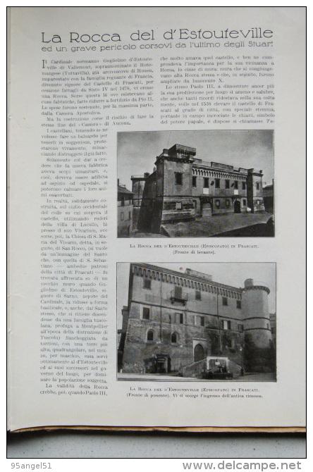 LA CULTURA MODERNA N° 8 - 1939 (BRESCIA, SABBIONETA, ALFIERI, FRASCATI, ALGHERO, TASSO, TOMADINI CIVIDALE, MANZONI) - Kunst, Design