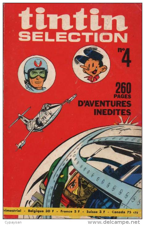 TINTIN SELECTION N° 4 BE 11-1969 - Petit Format