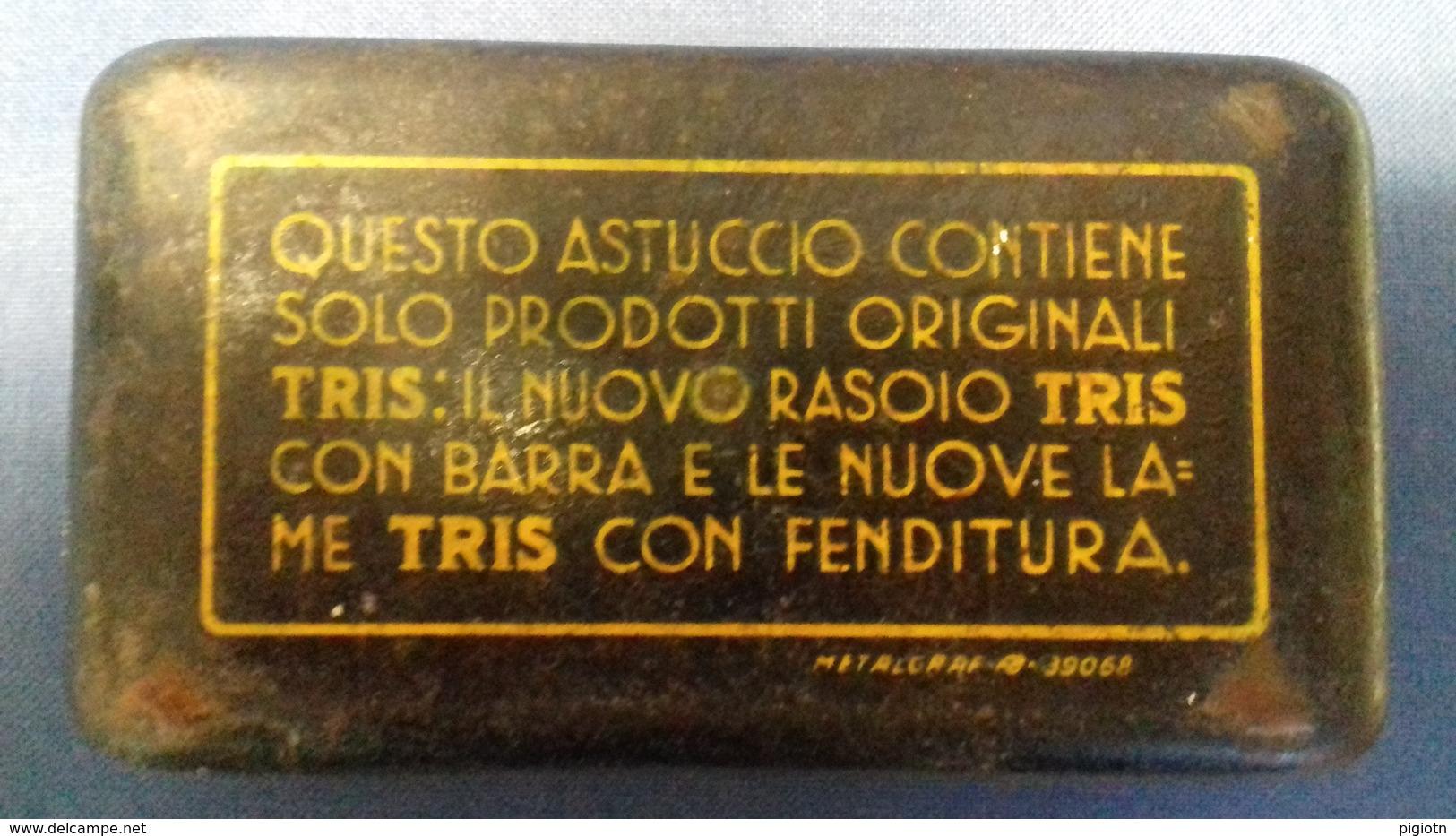 L59 - ASTUCCIO TRIS CON RASOIO - Materiale Di Profumeria