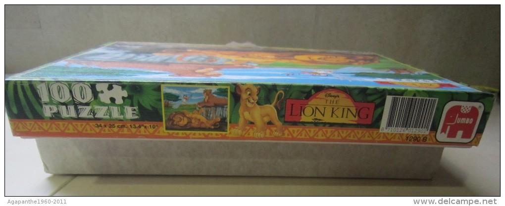 068 - PUZZLE JUMBO - ROI LION - THE LION KING - 100 PIÈCES - Puzzles