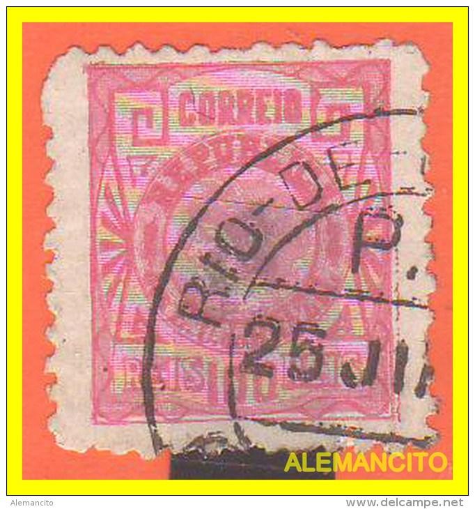 BRAZIL - SELLO AÑO 1891 -. LIBERTY HEAD - Usados