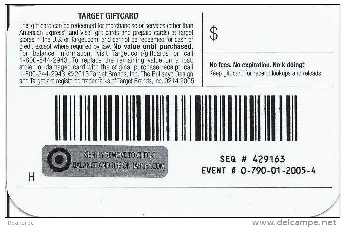 Target Gift Card - Gift Cards