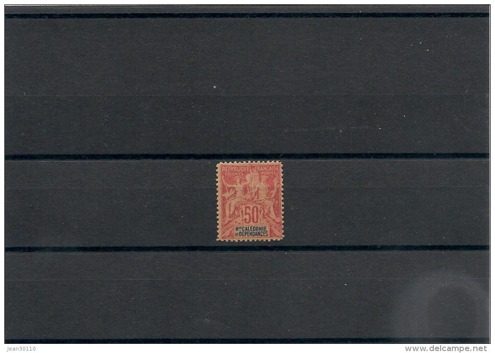 NOUVELLE CALÉDONIE Année 1892  N°Y/T : 51**côte: 90,00 € - New Caledonia